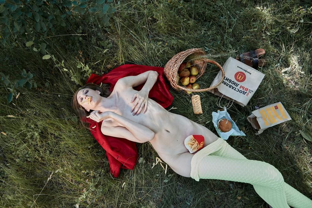 Art Projects - Breakfast on the grass