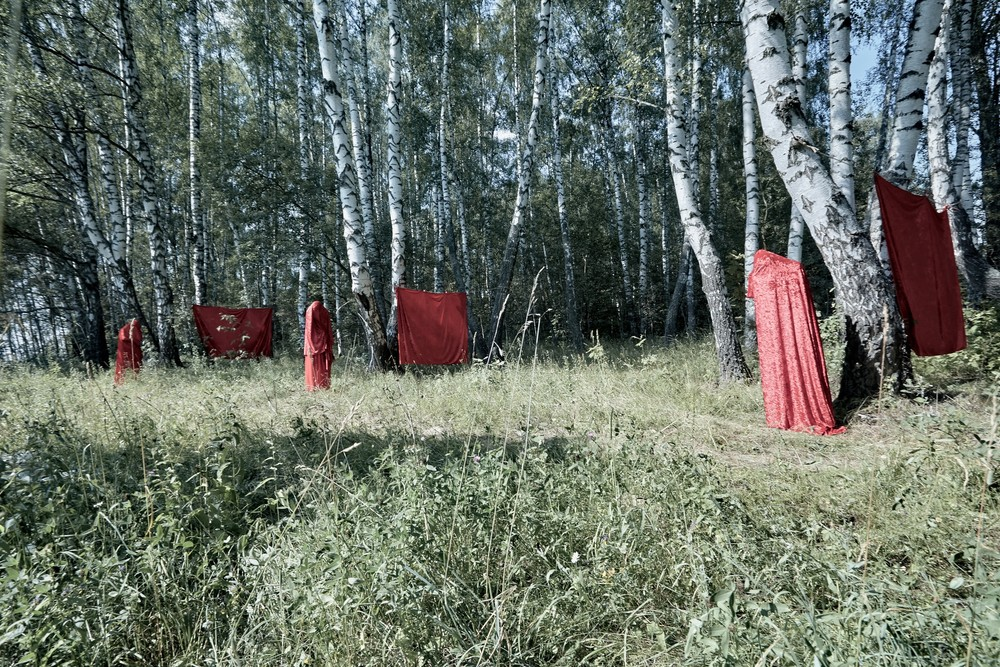 Art Projects - Three billboards on the border of Moscow and the Moscow region