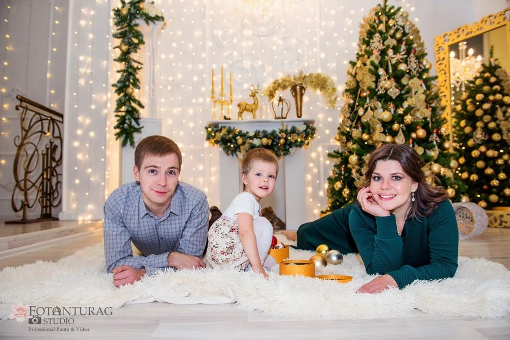 портфолио  - Семеные, новогодние съёмки_фотограф Елена