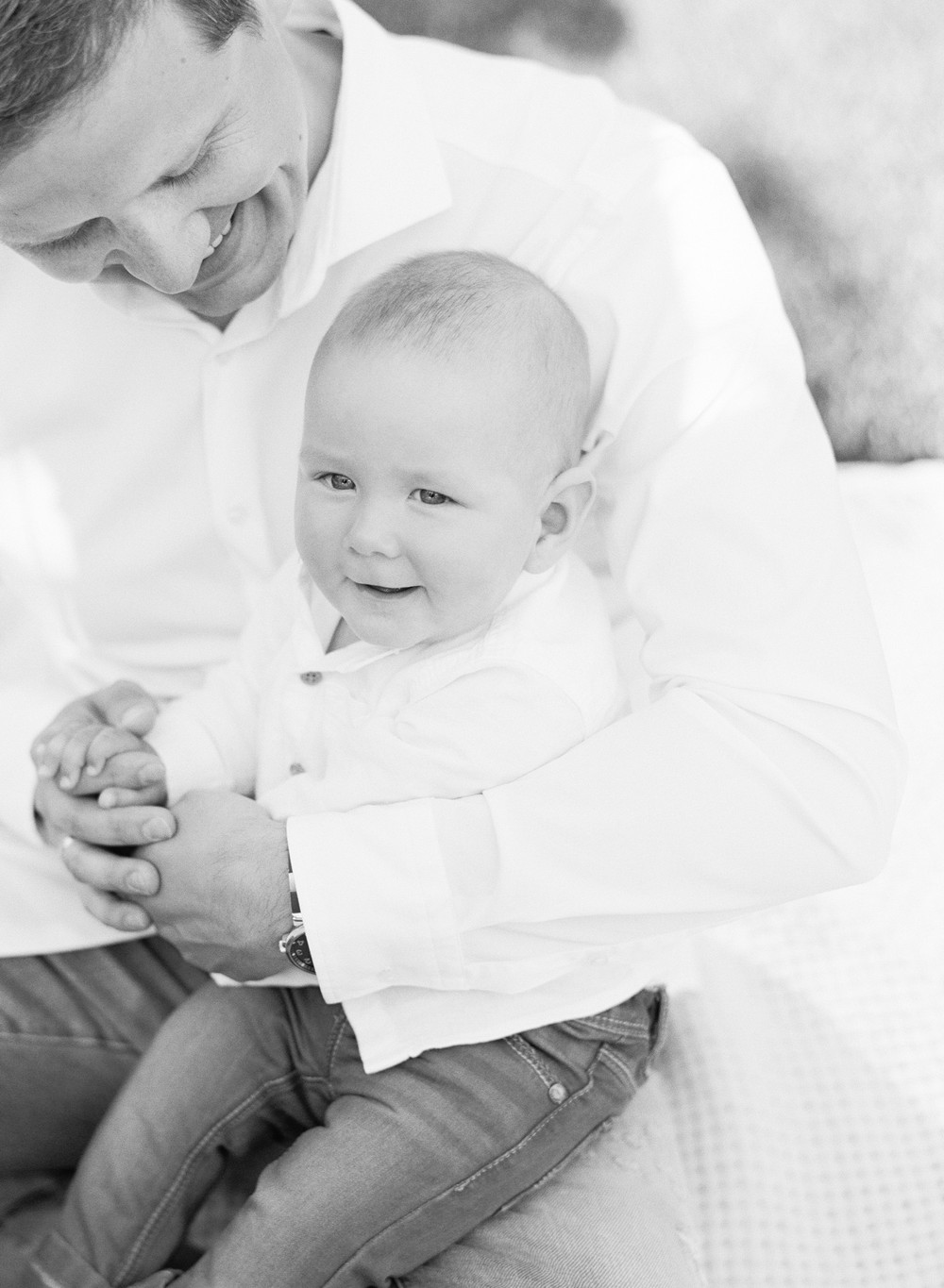 Lifestyle newborn session with little David