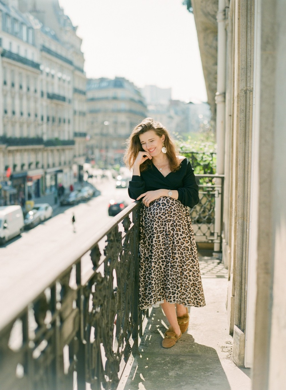 One day in Paris. Marina