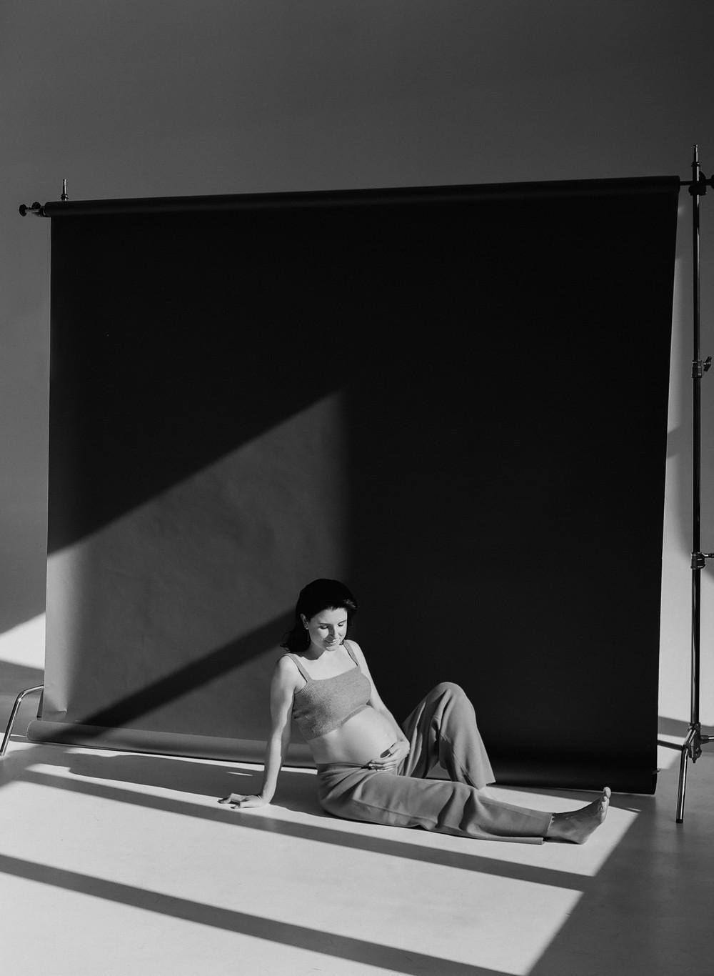 Olga. Studio photoshoot