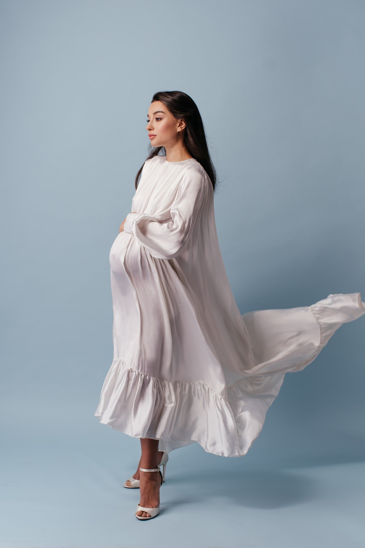 Christina. Fashion pregnancy
