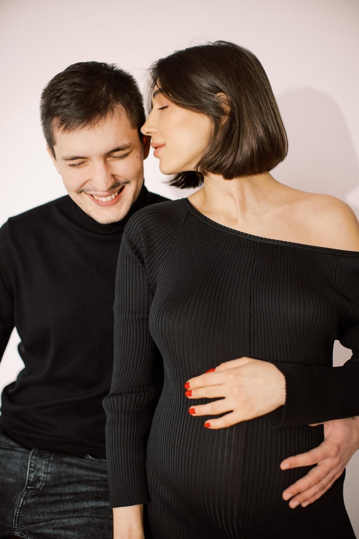Inna. Studio fashion pregnancy