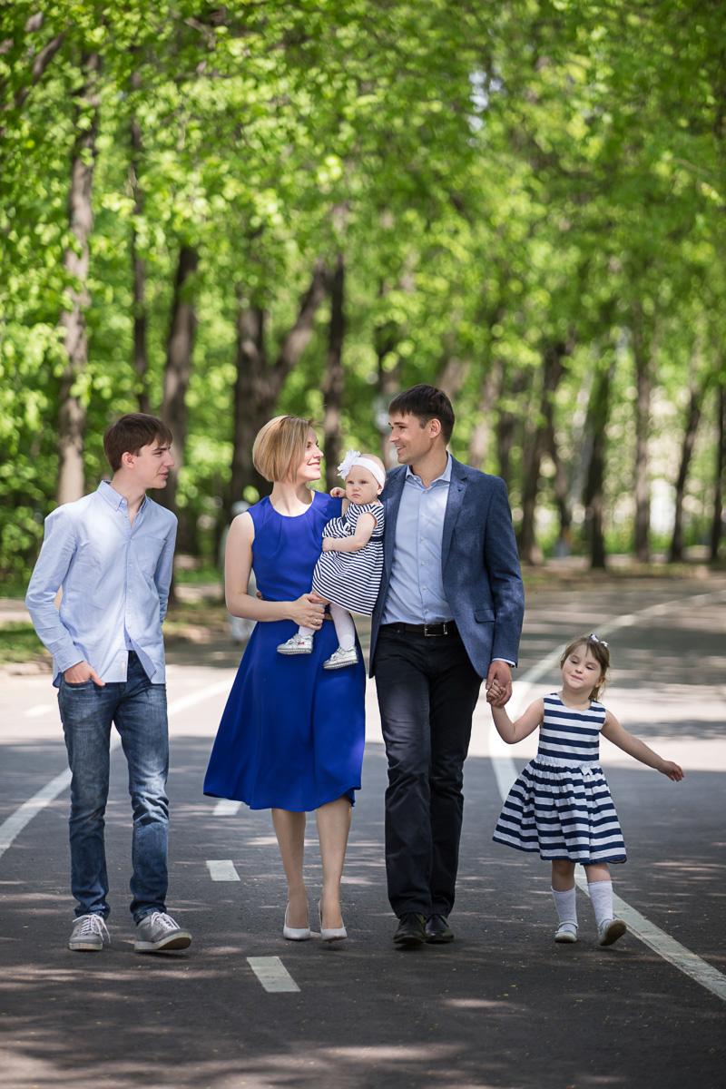 Семья в кадре