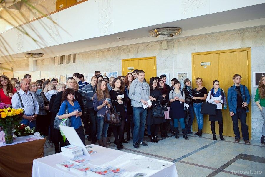 Открытие выставки 13 апреля 2013 года в ДК Октябрь