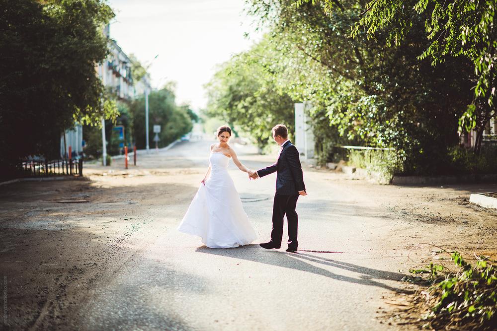 Мысли о выборе места для свадебной съемки