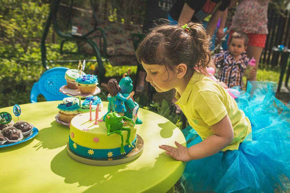 Детский праздник - Вике 3 годика