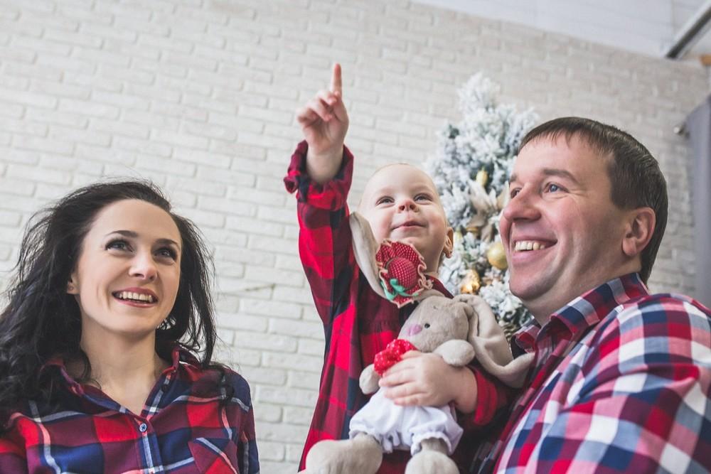 Семья - Семья Ульяновых новый год