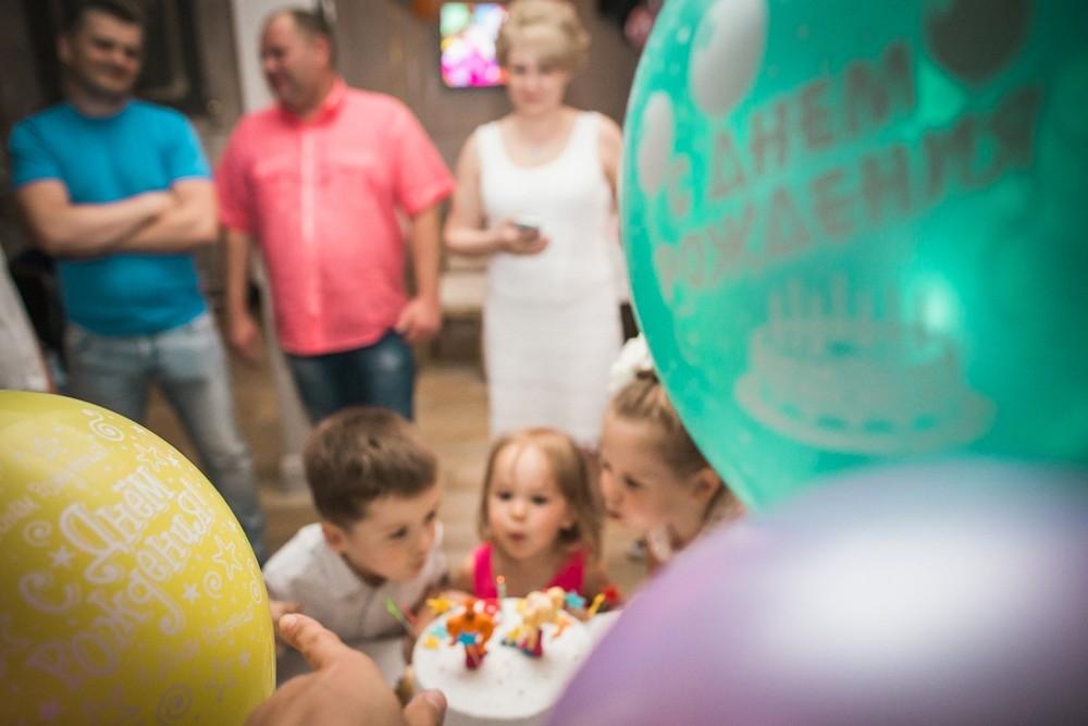Детский праздник - Лизе 3 годика