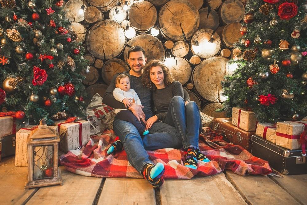 Семья - Семья Курочкиных новый год