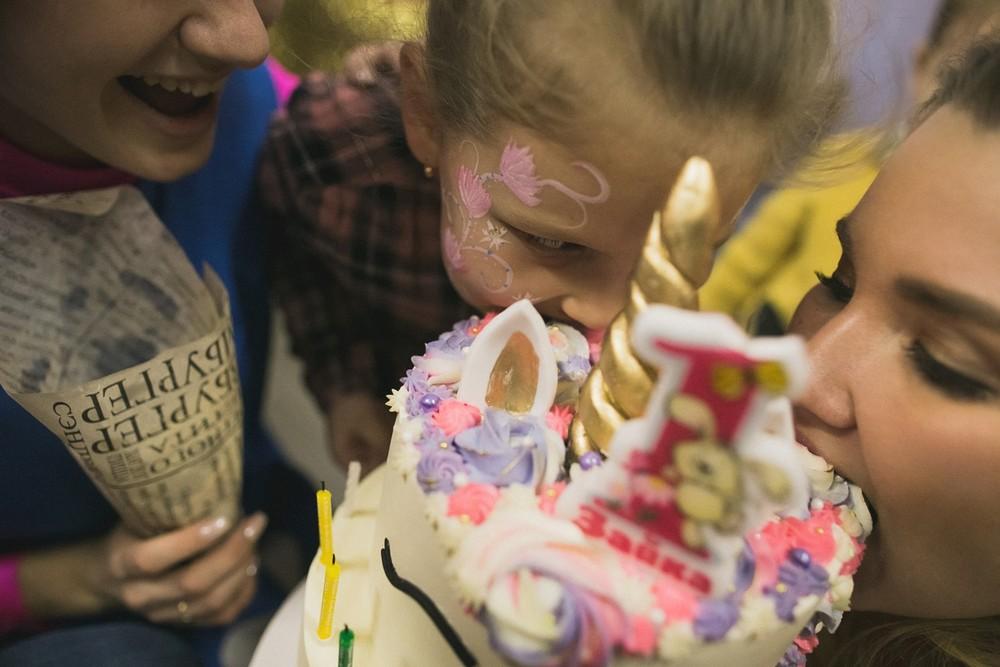 Детский праздник - Настя 1 год