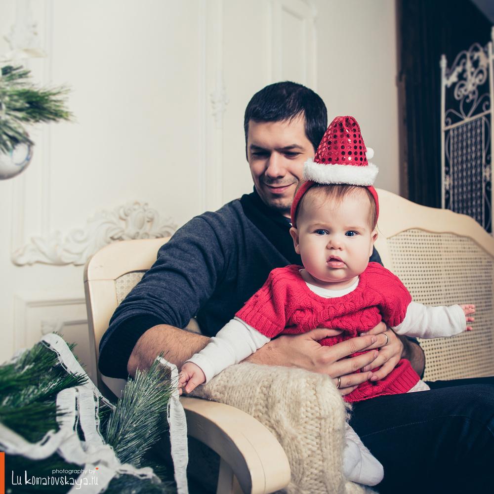 Семья - Оля и Коля с Вероникой
