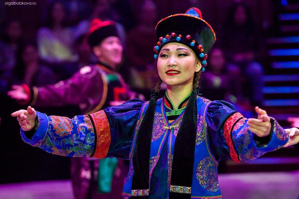 Бурятский цирк в Москве