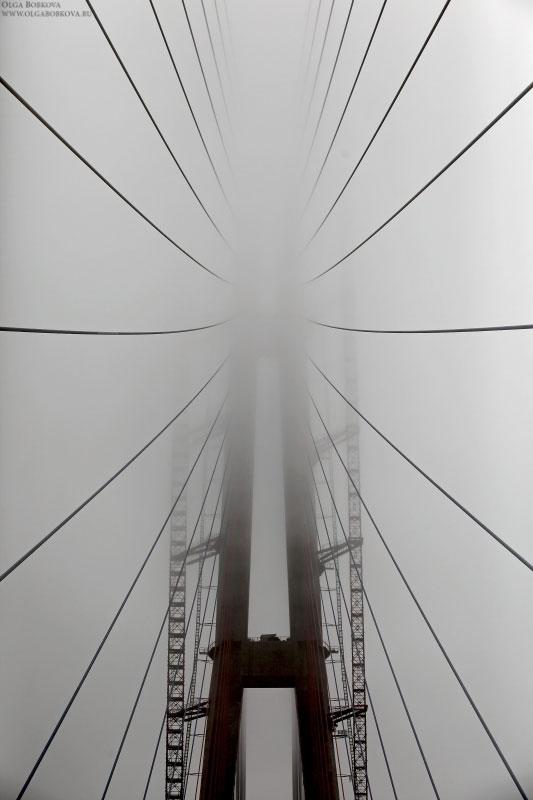 Владивосток. Строительство моста на о.Русский.2012