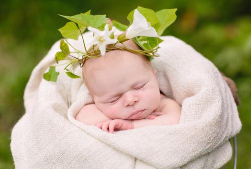 Съёмка новорожденных. Пленер.