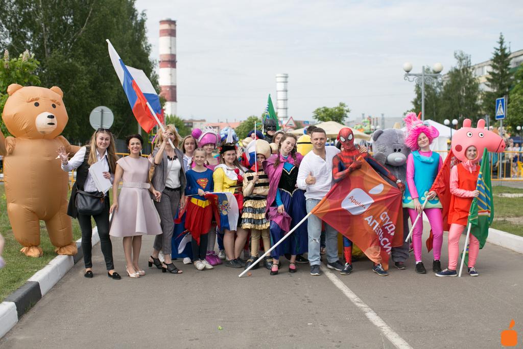 Парад аниматоров в г. Электрогорск. 2019 г.