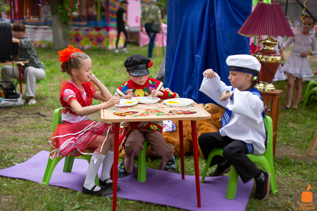 День защиты детей в городском парке Орехово-Зуево 2019