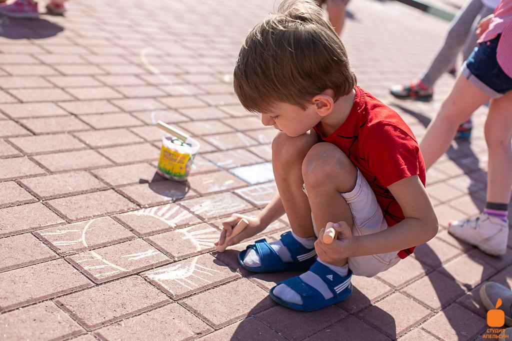 День защиты детей. Парк Атлант. 2 июня 2019