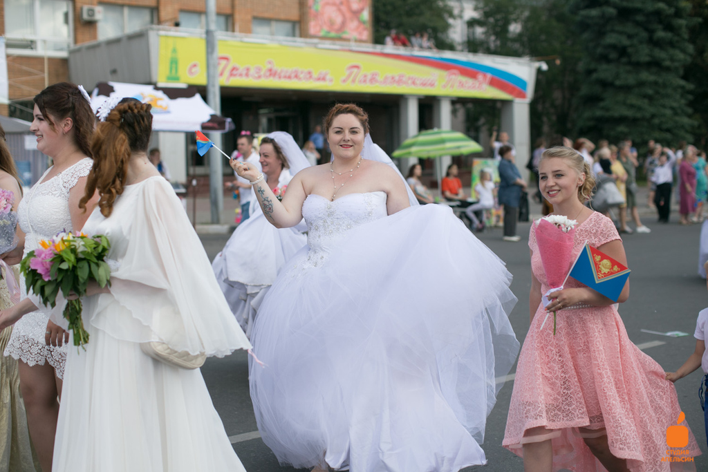 Парад невест г. Павловский посад 2019