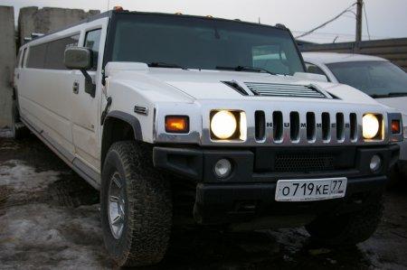 Белый лимузин Hummer | 719, 20 мест