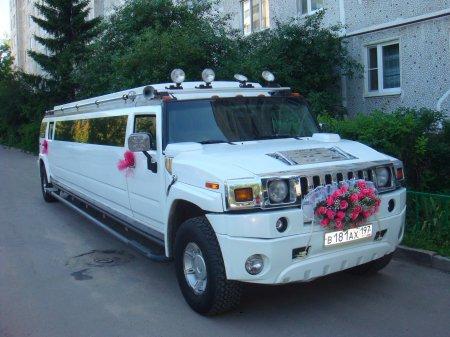 Белый Лимузин Hummer | 181