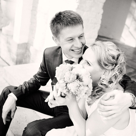 Свадебное слайд-шоу Кати и Сергея