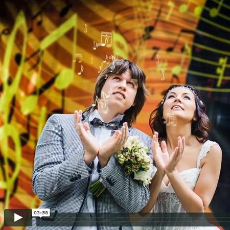 Свадебное слайд-шоу Ирины и Василия