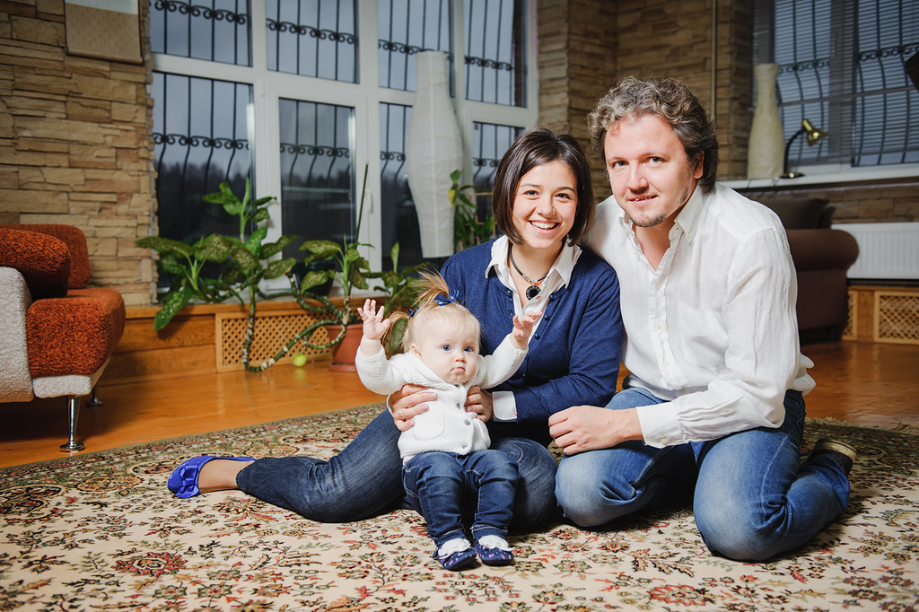 FAMILY (СЕМЕЙНОЕ ФОТО) - Марат + Маша + Лия - Семейная фотосъемка