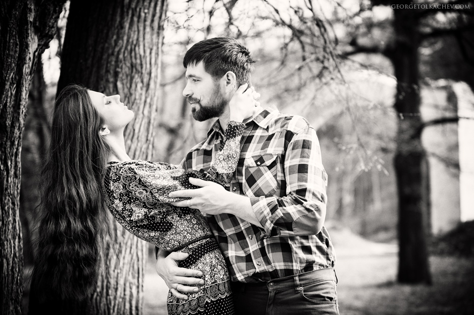 LOVESTORY (ЛАВСТОРИ) - Саша + Катя - Лавстори Саши и Кати в Царицыно, Фотограф Георгий Толкачев