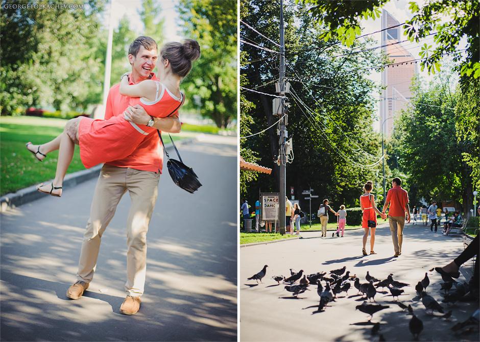 LOVESTORY (ЛАВСТОРИ) - Лёша + Аля - Лавстори Лёши и Али в парке