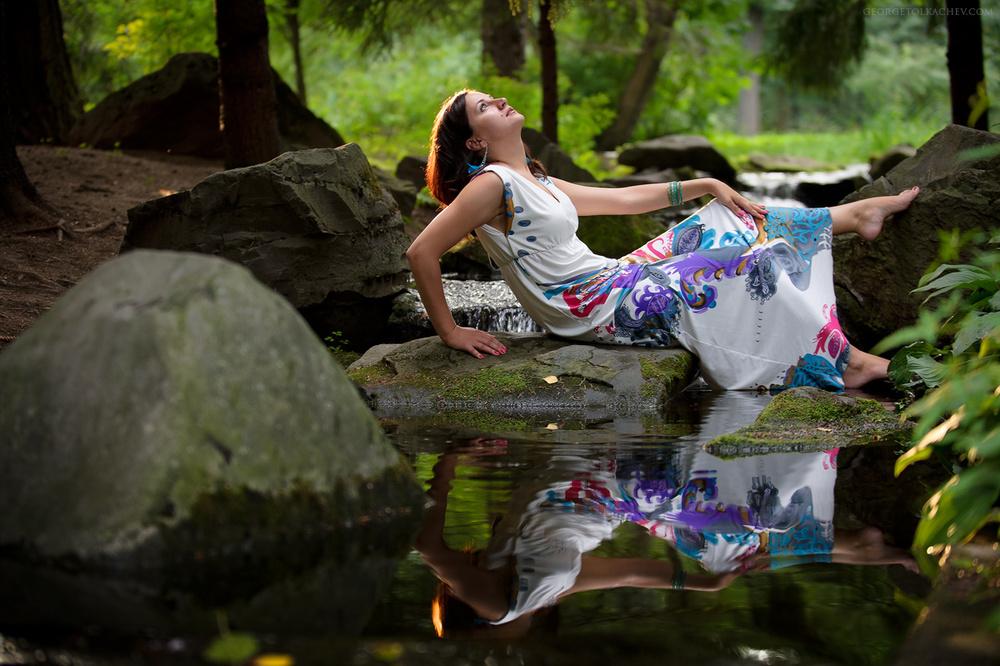 PORTRAITS (ПОРТРЕТЫ) & ФОТОСЕССИИ - Vika - Фотосессия в Японском саду (Москва)