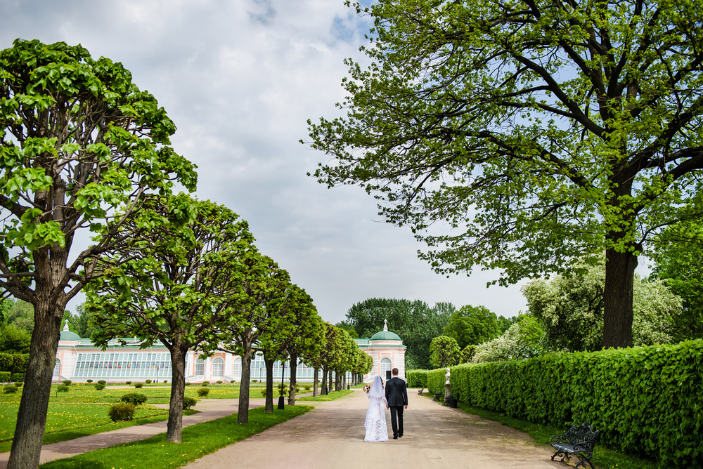 WEDDINGS (СВАДЬБЫ) - Lena & Anton - Свадьба Лены и Антона в Кусково 2015