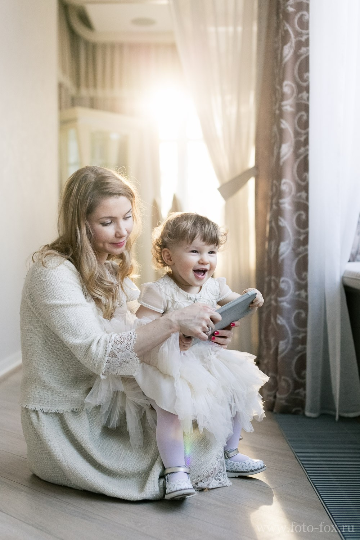 Семейная фотосессия дома