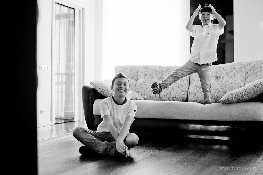 семейный фотограф домой