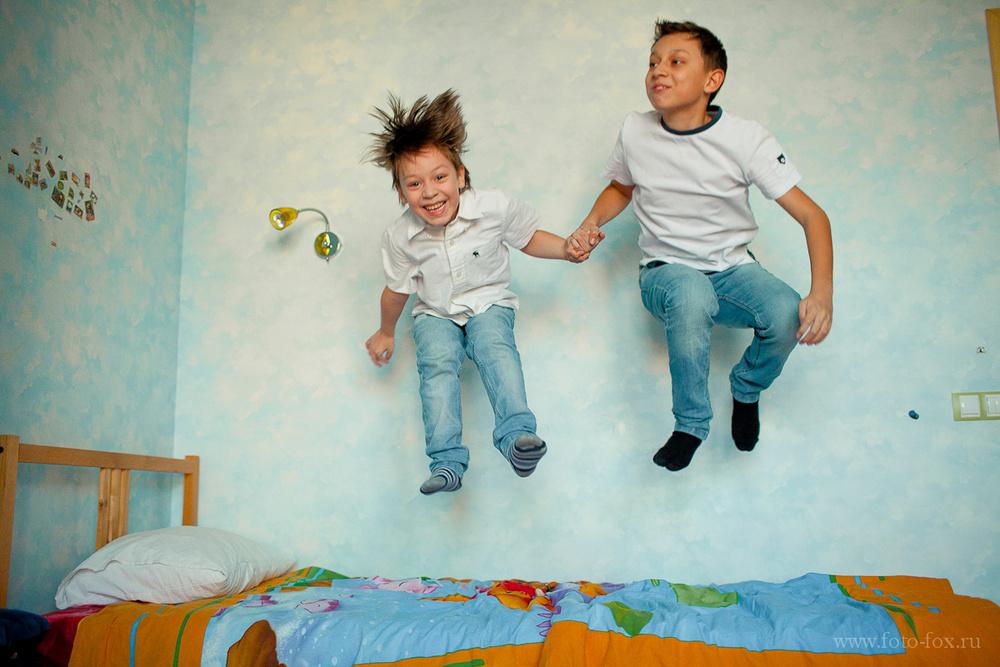 детская фотосессия на дому