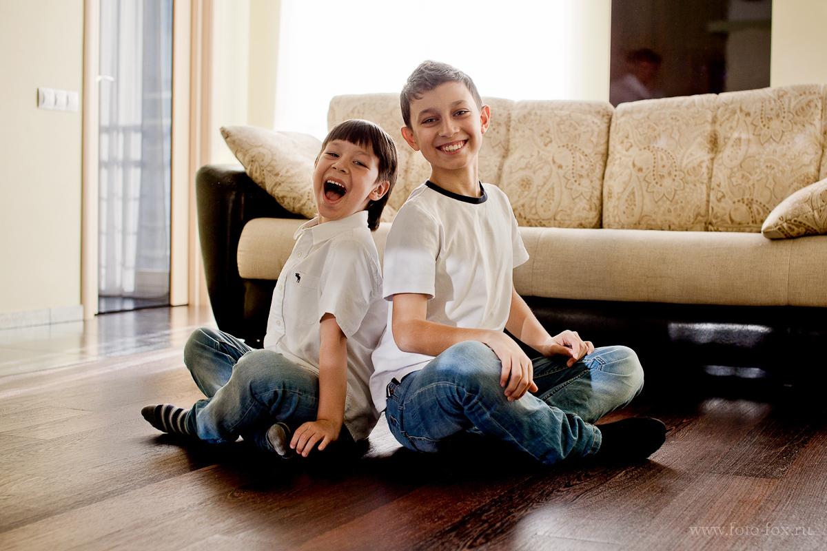 детский портрет братья