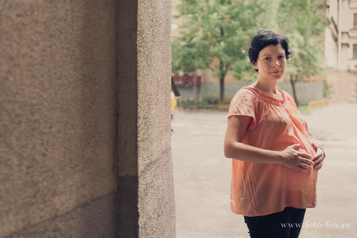 фотосессия беременных в городе
