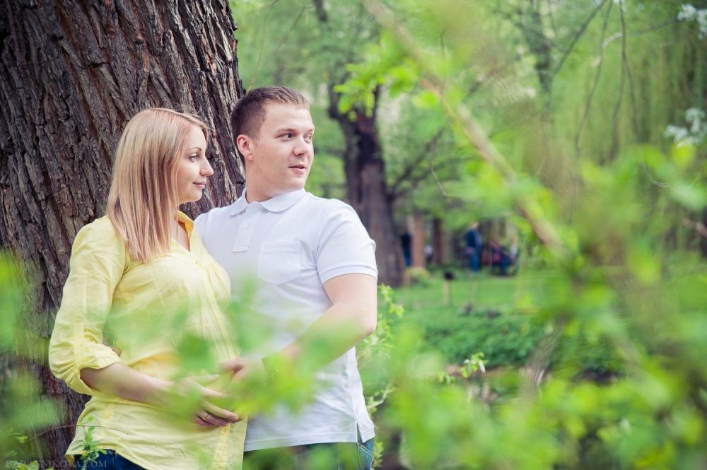 Полина и Андрей в ожидании