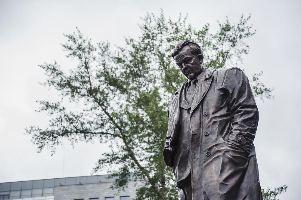 Открытие памятника Твардовскому