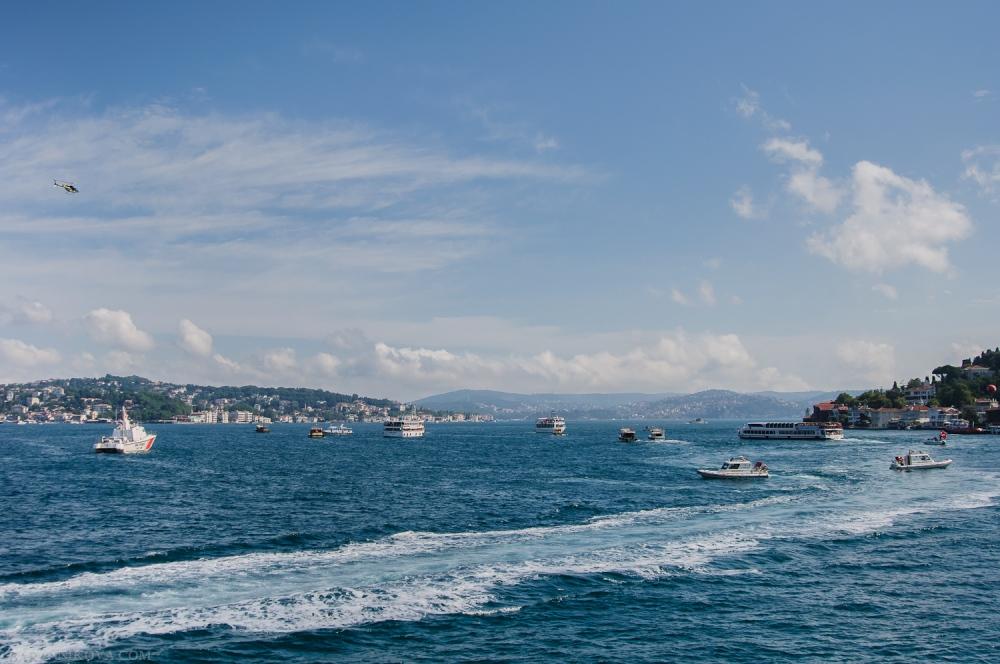 Турция. Переплыть Босфор -2013