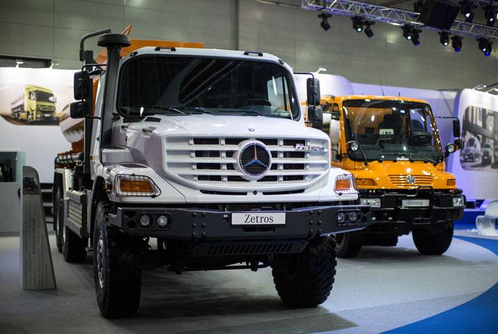 Mercedes-Benz на «Комтрансе-2013»