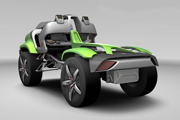 60 Лет Мерседес-Бенц Унимог исполнилось в 2011 году. В честь юбилея был выпущен концепт Унимог. Он поразил всех!