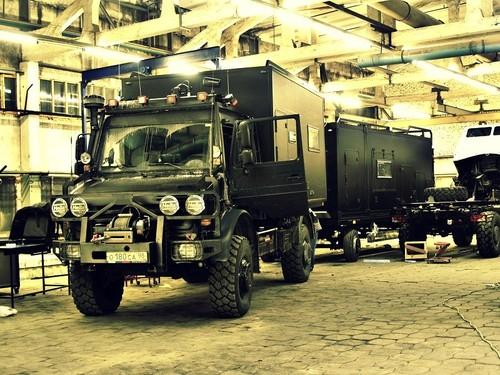 Проект Охотник-4 (прицеп автодом)