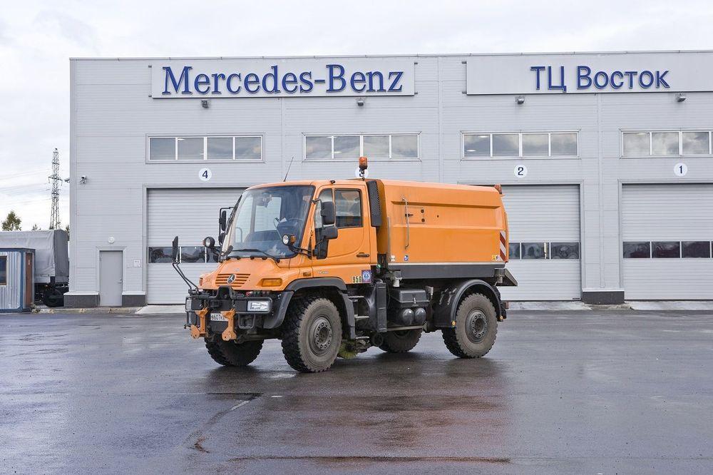 Вакуумная подметально-уборочная машина Trilety TK35 на базе Mercedes Unimog U400 купить