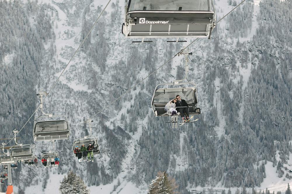 MOUNTAIN SKI WEDDING