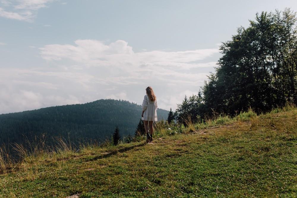 Olya. Mountains