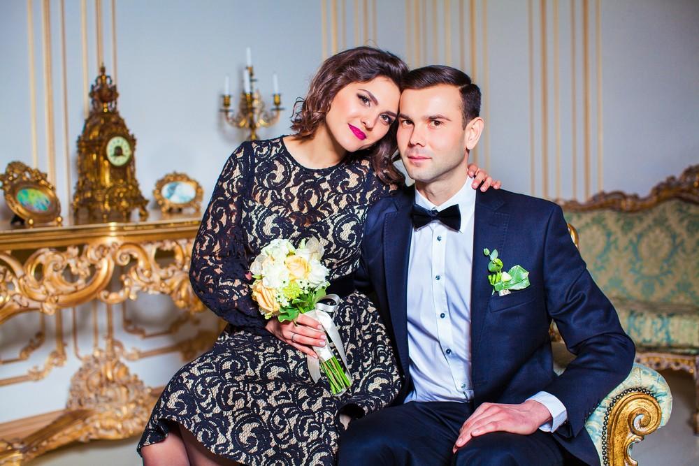 Молодожены на свадебной фото сессии от Татьяны Поповой