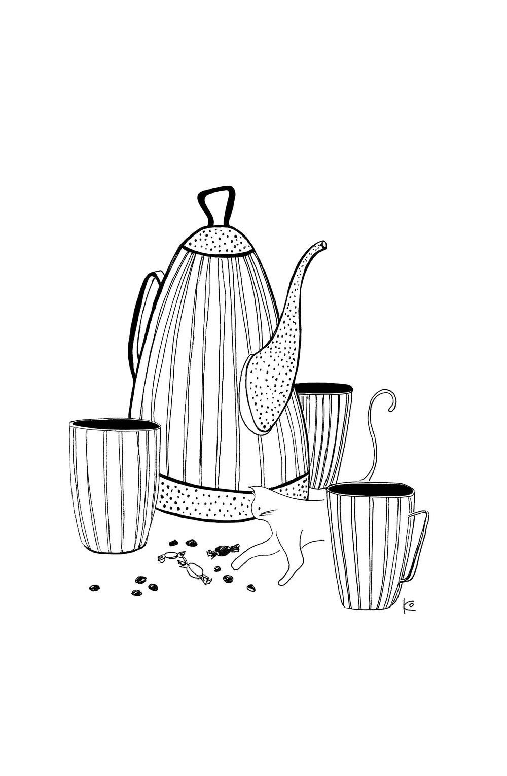 чайные коты