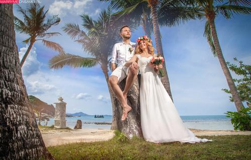 Пляжная церемония для Николая и Марго